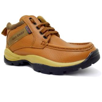 Red Chief Genuine Leather Outdoor Casual Shoes For Men