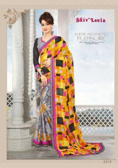 Shiv Leela Georgette Sarees For Women