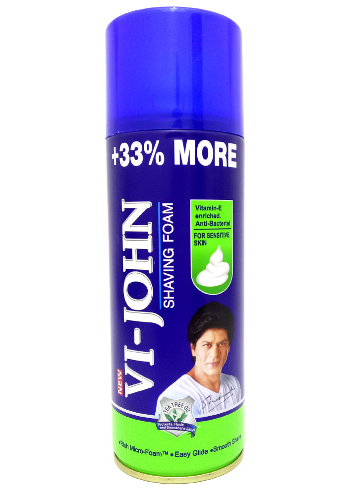 Vi-John Shaving Foam 400GM For Sensitive Skin