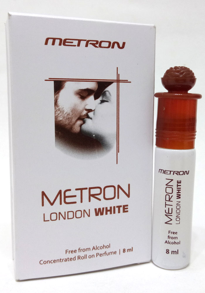 Metron London White Attar For Men & Women (8ML)
