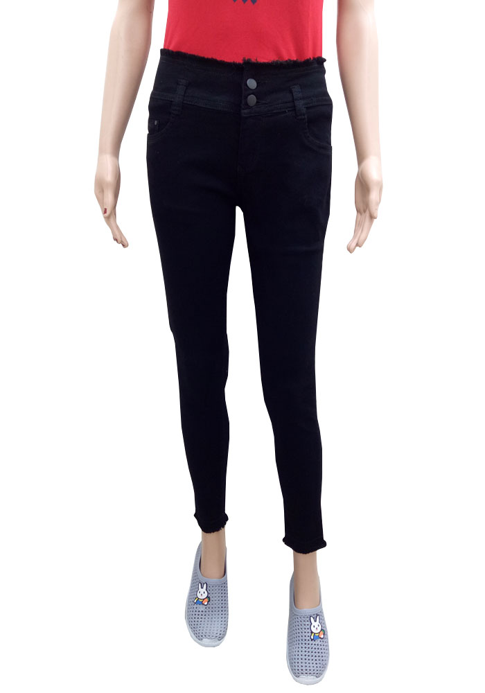 T&M Cigarette Jeans For Women
