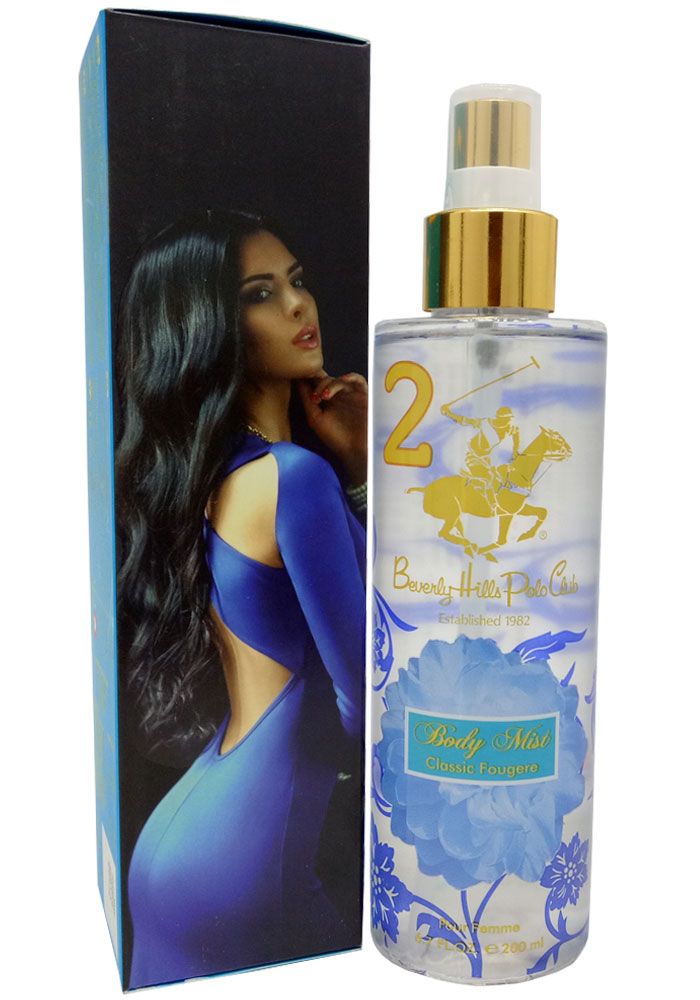 Beverly Hills Polo Club Premium Body Mist Classic Fougere No.2 (200ML)