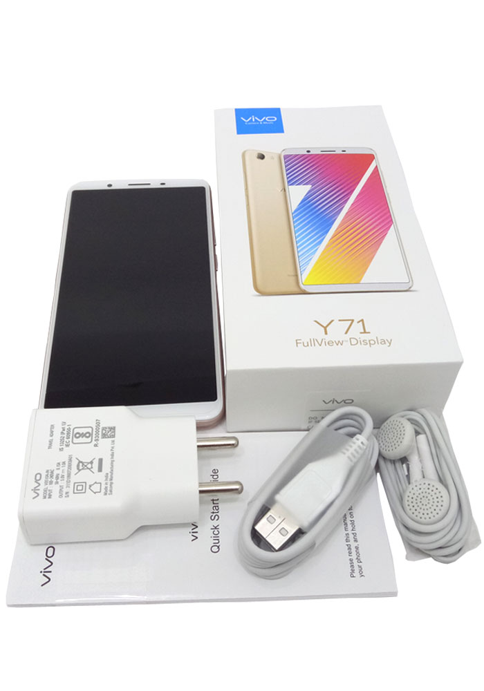VIVO Y71 (Gold, 16 GB) (3 GB RAM)