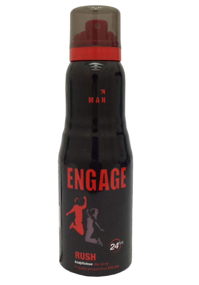 Engage Rush Deodorant For Men (165ML)