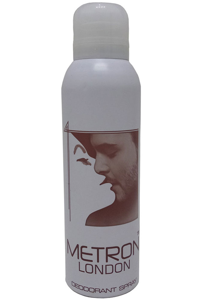 Metron London Deodorant Spray For Men & Women (200ML)