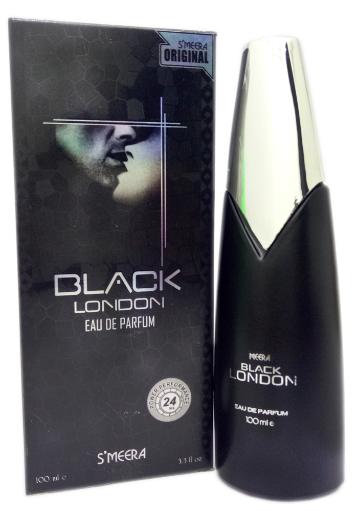 S`Meera Black London Eau de Parfum  For Men(100 ml)